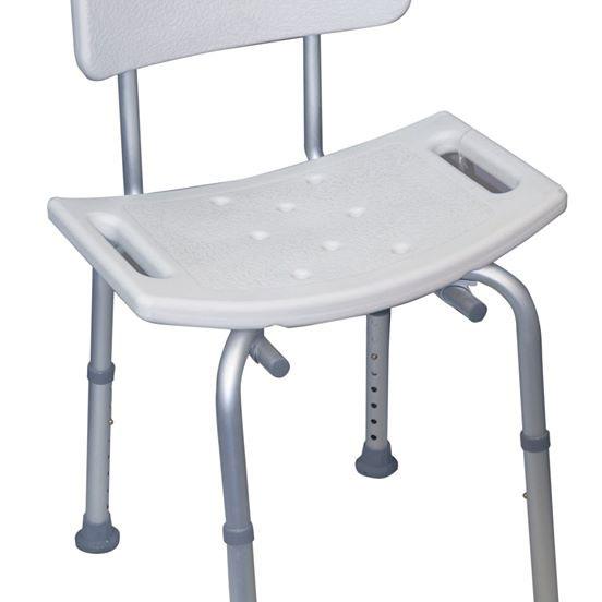 Dušo kėdutė su atrama