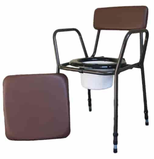 Tualeto kėdė su reguliuojamu aukščiu 1
