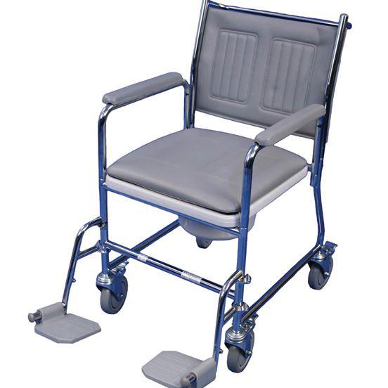 Tualeto kėdutė - vežimėlis su ratukais