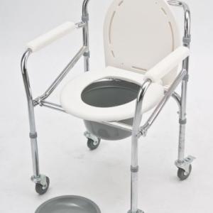 Sulankstoma tualeto kėdė su ratukais 6