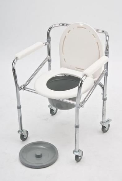 Sulankstoma tualeto kėdė su ratukais 5