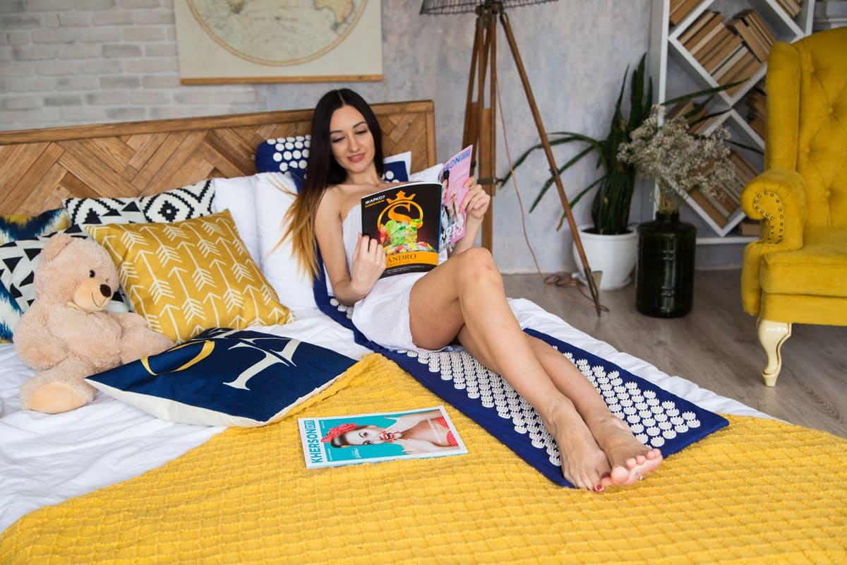 Masažo ir akupunktūros kilimėlis 165×40