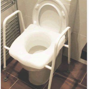 tualeto rėmas