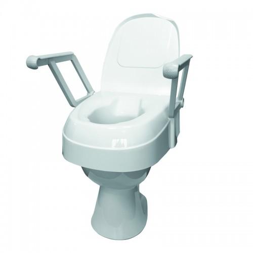 Universalus tualeto paaukštinimas su reguliuojamu aukščiu