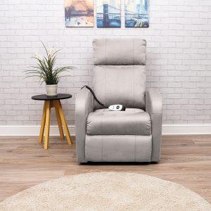 Pulteliu valdomas fotelis su atsistojimo funkcija