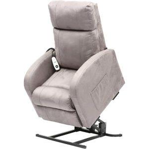 Fotelis su atsistojimo funkcija